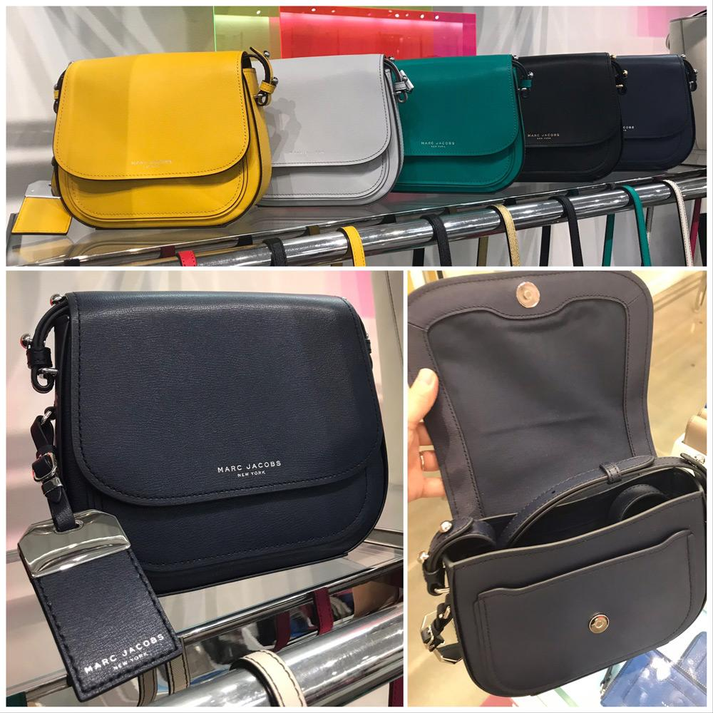 【Marc Jacobs】M0014109 Rider Leather Crossbody 1