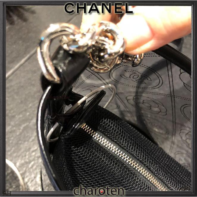 6868972ad8e7 ... シャネル CHANEL 超可愛クリア素材 最新 限定バスケットバッグ ショルダーバッグ ポシェット 6