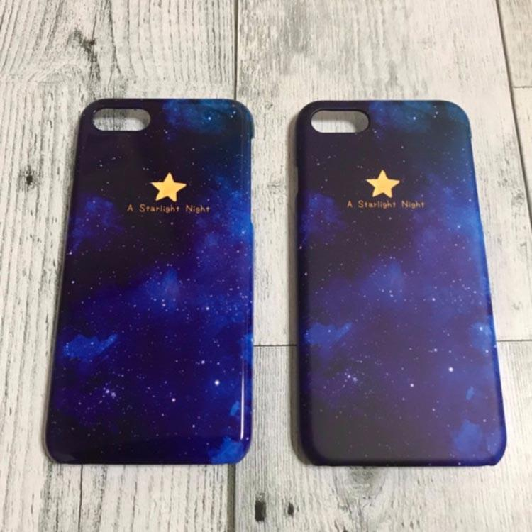 スマホケース「A starlight night」 iPhone&Android 1