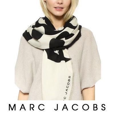 【Marc Jacobs】Big Spot Scarf 可愛い 大判 ドット柄 1