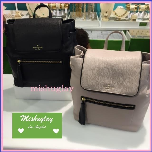 【kate spade】9月発表★可愛いタッセル付♪バックパック'kacy' 1