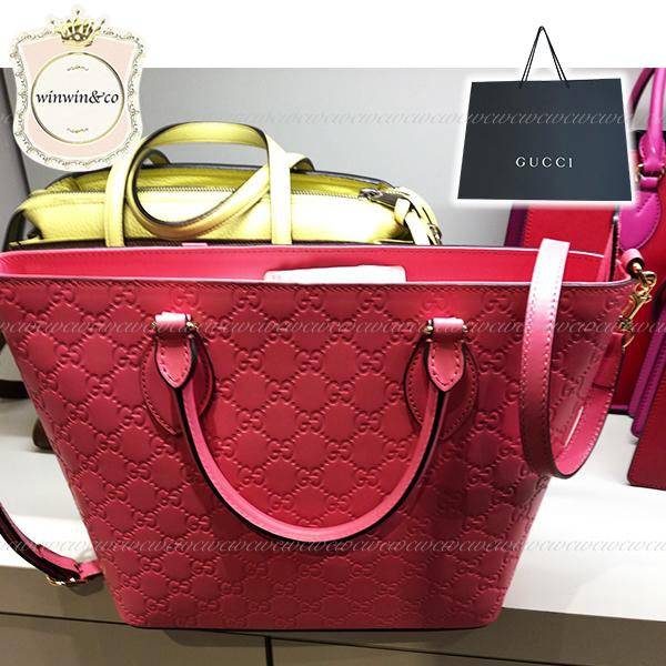GUCCI グッチ SALE【国内発送】大人気!GG柄エンボストートバッグ 1