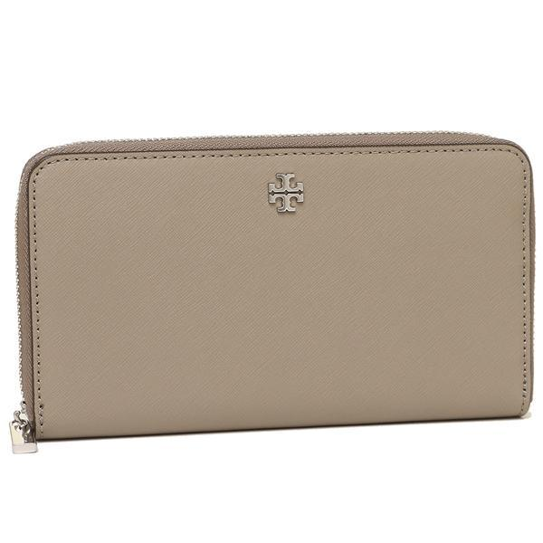 トリーバーチ TORY BURCH ROBINSON ZIP CONTINENTAL WALLET 長財布 グレー  1