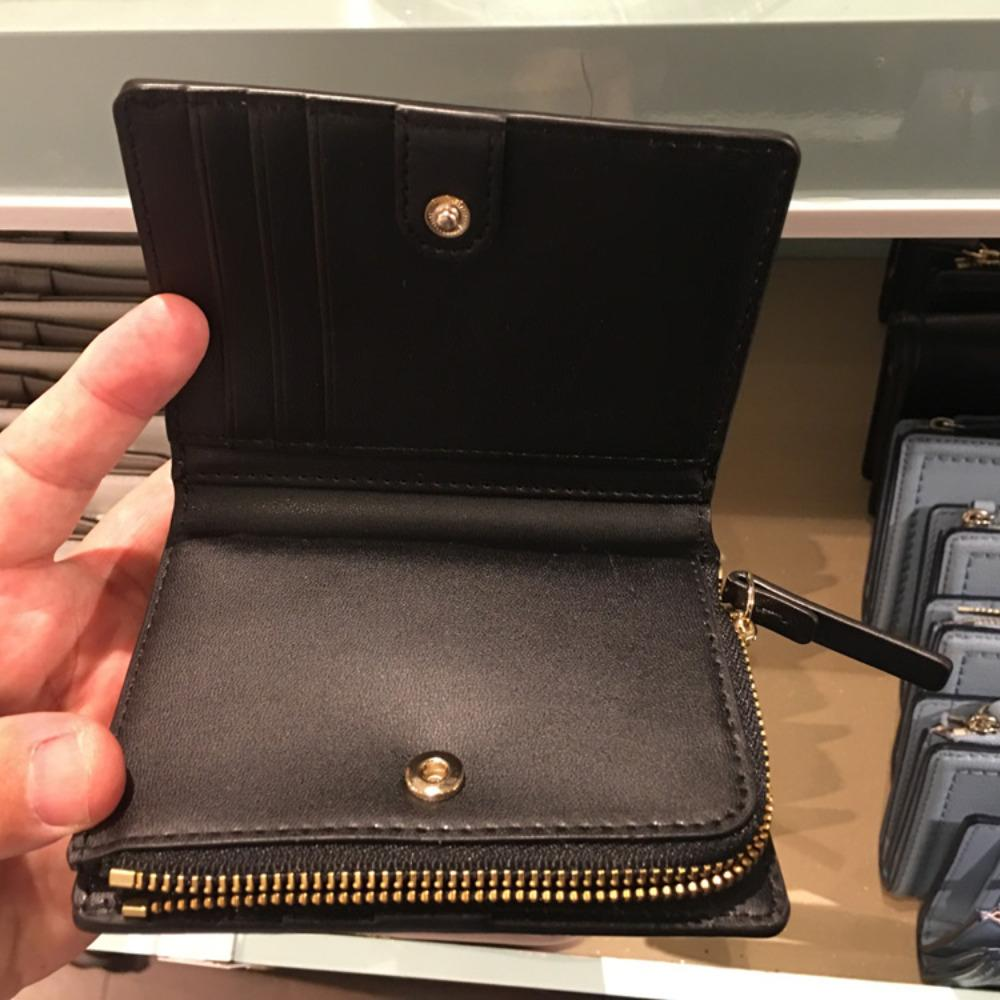 4f7b232d0cdf ... ケイトスペード レザー 折畳み 財布 kate spade patterson drive small shawn WLRU5294 3 ...