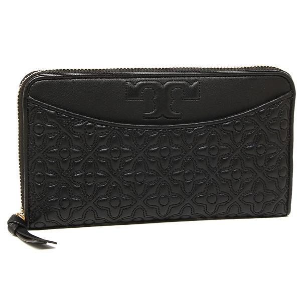 トリーバーチ TORY BURCH BRYANT ZIP CONTINENTAL 長財布 BLACK 黒  1