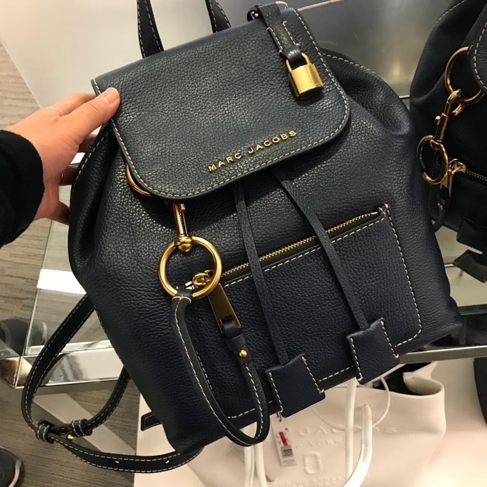 【Marc Jacobs】2018AW M0014018  Leather Backpack 1