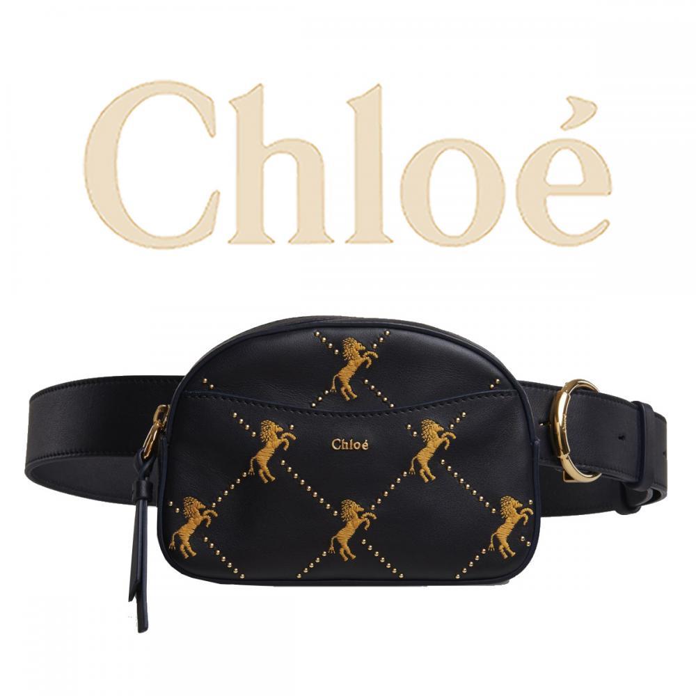 promo code d1989 6d89c 【人気!】Chloe クロエ リトルホース刺繍ミニベルトバッグ