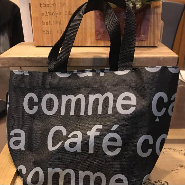 cafe comme ca ミニトートバッグ 新品・未使用 1