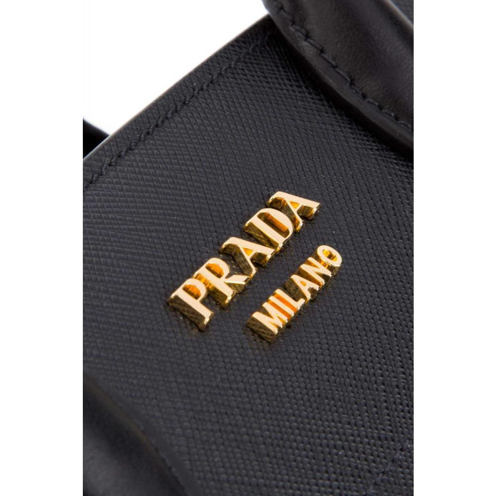 241e6cbd083a ... プラダ ビブリオテーク バッグ ハンド ショルダーバッグ PRADA Bibliothèque Bag Saffiano leather 5  ...