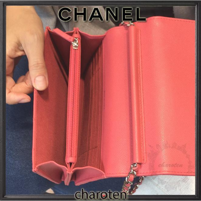 48789643acbe ... シャネル CHANEL おニューなデザイン キャビアピンクWOC ショルダーバッグ ポシェット 3 ...