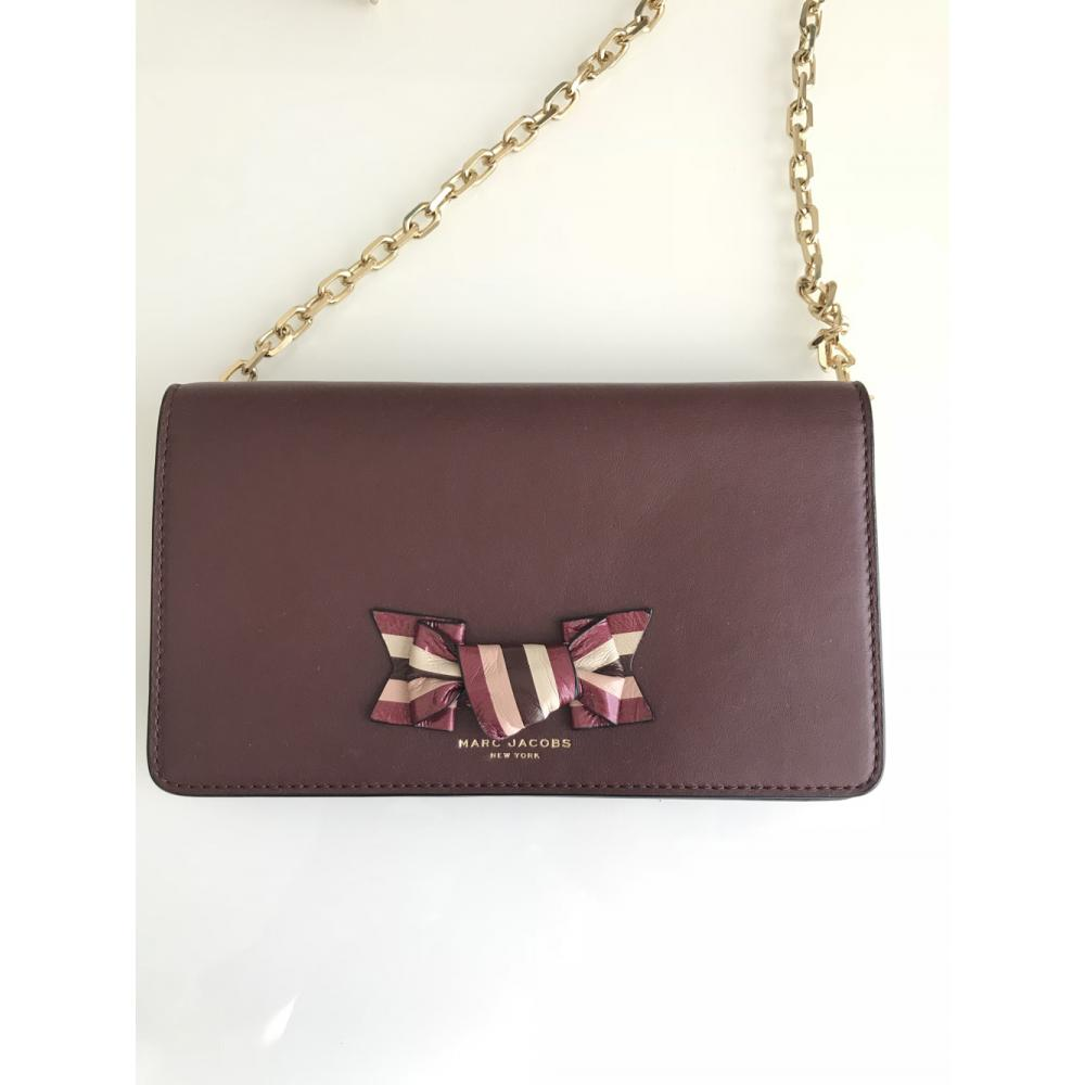 【Marc Jacobs】Leather Crossbody Wallet 長財布 1