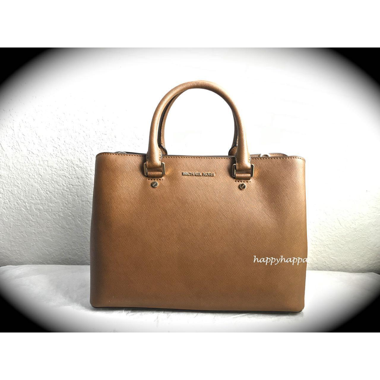 【MICHAEL KORS】破格SALE!!特別入荷☆savannah satchel☆A4収納 1