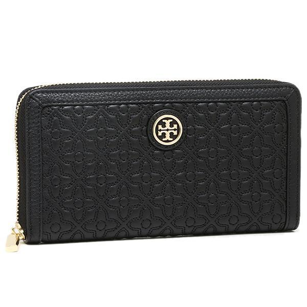 トリーバーチ TORY BURCH BRYANT ZIP CONTINENTAL WALLET 長財布 BLACK  1