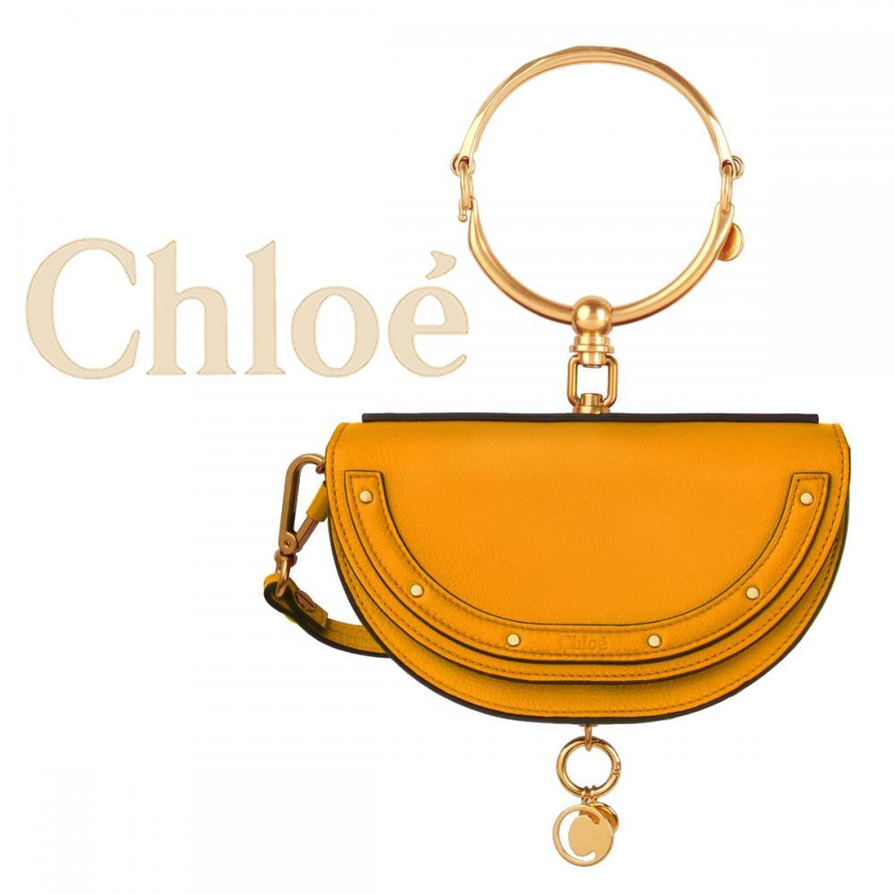 new style 7214d 59229 【人気新色 直営買付】Chloe クロエ Nile ミノディエール ハンドバッグ