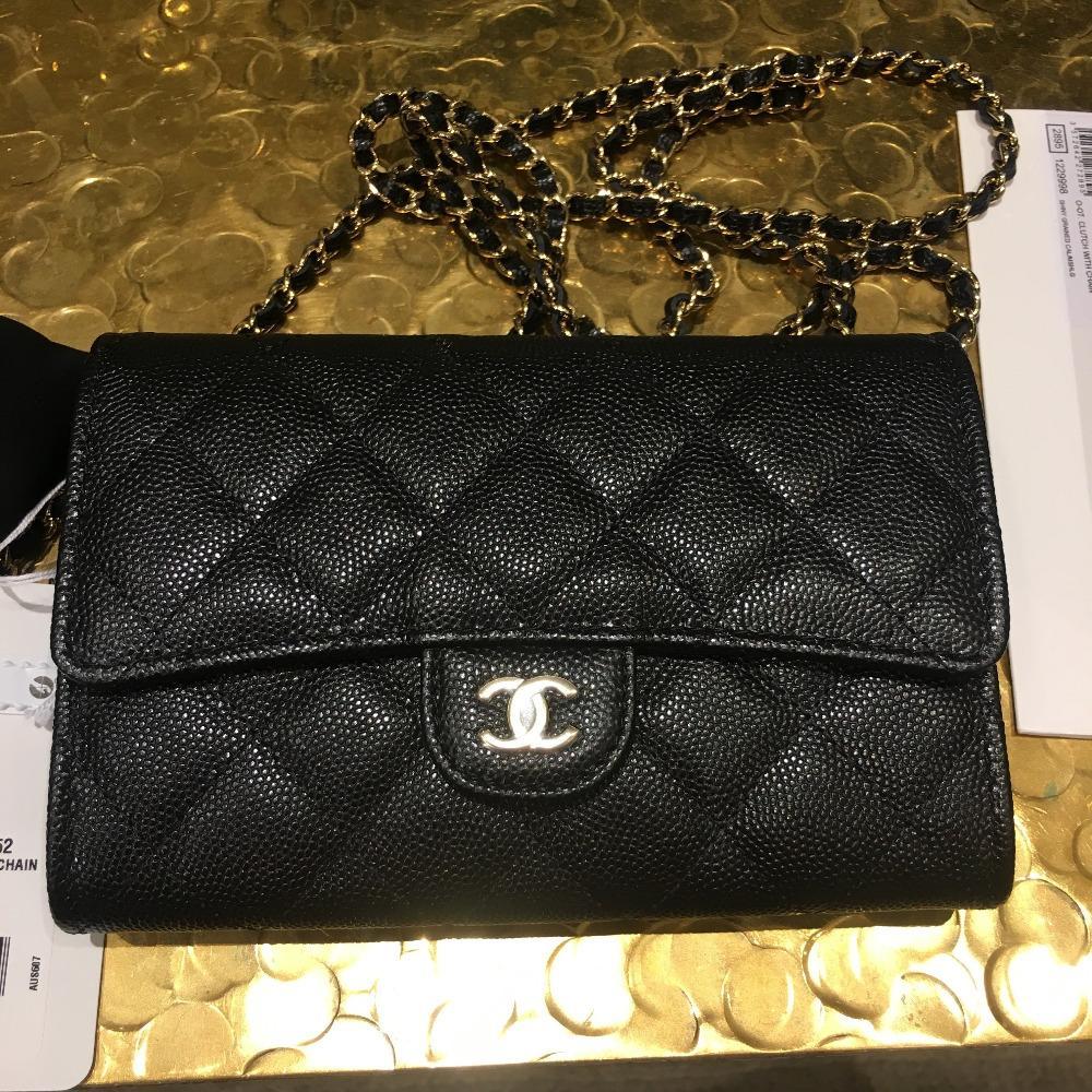15e60259da6c Chanel シャネル 定番 チェーンウォレット キャビアスキン | 通販MORK
