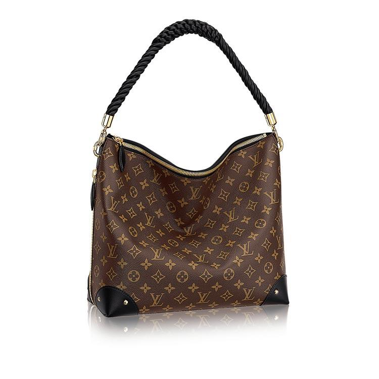LOUIS VUITTON ハンドバッグ TRIANGLE SOFTY MONOGRAM REVERSE CANVAS M44130 1