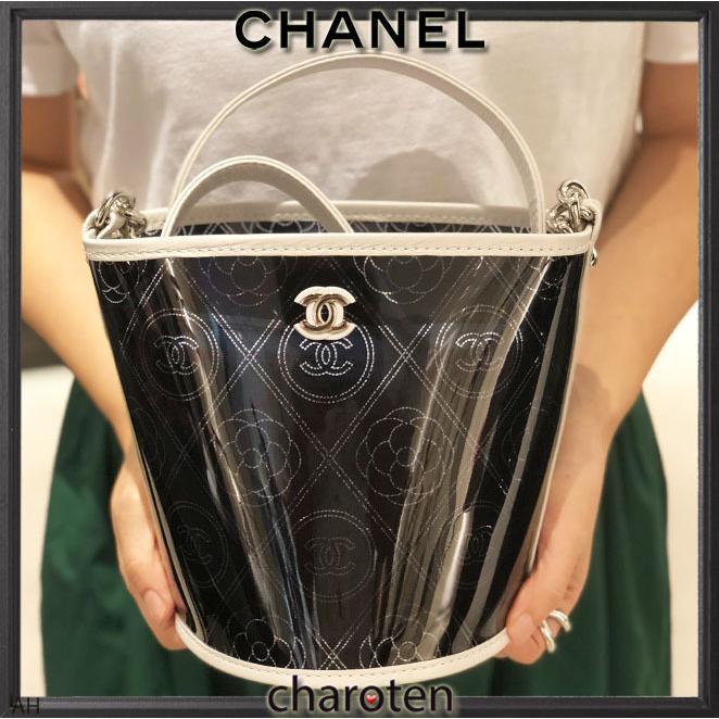 5bd07de05b99 ... ポシェット 1 · シャネル CHANEL 超可愛クリア素材 最新 限定バスケットバッグ ショルダーバッグ ポシェット 2 ...