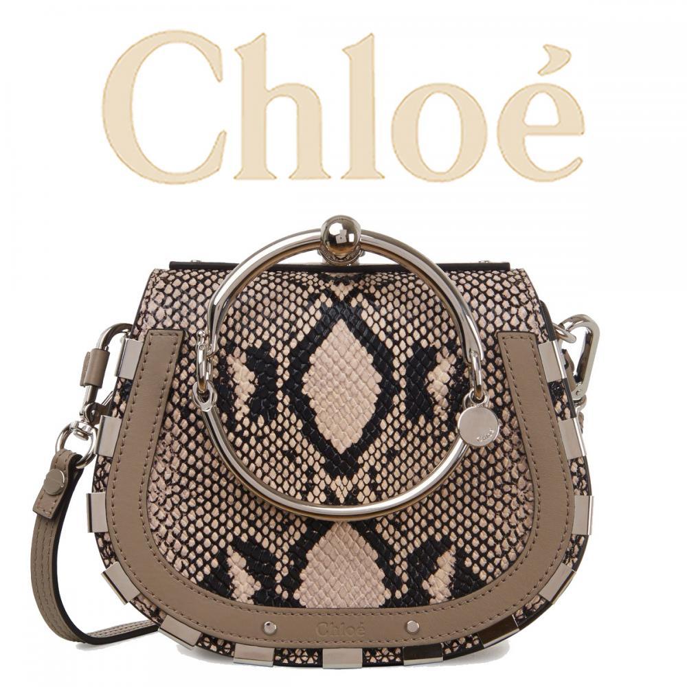 super popular 2cb4b eeae2 【希少!限定モデル】Chloe クロエ Nile パイソンブレスレットバッグ