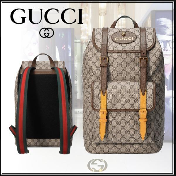 huge discount 58b97 68252 グッチ GUCCI Soft GG Supreme backpack ソフト GGスプリーム バックパック