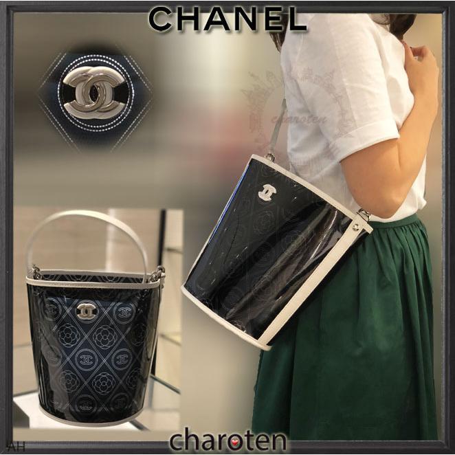 4ba1e55ef497 シャネル CHANEL 超可愛クリア素材 最新限定バスケットバッグL ショルダーバッグ ポシェット 1