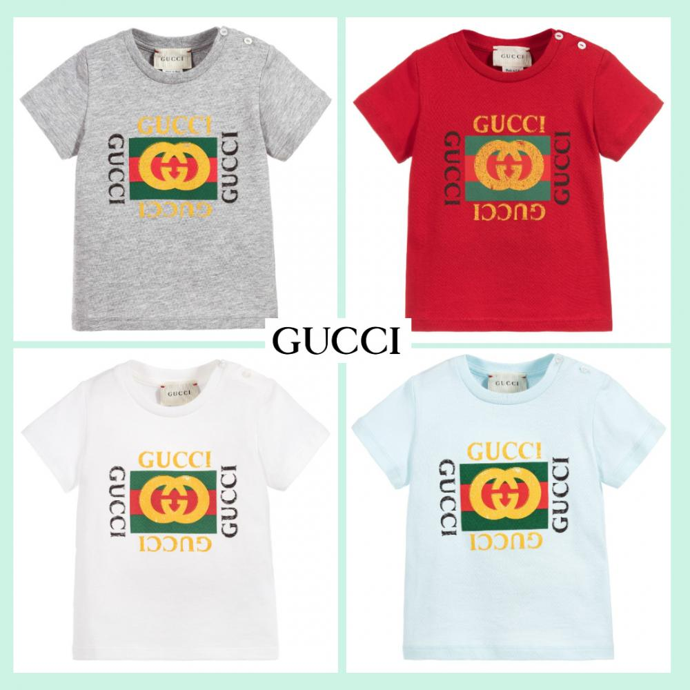 sale retailer 273f6 1ff7c GUCCI グッチ MINI ME 大人気 ヴィンテージロゴ・ベビーTシャツ