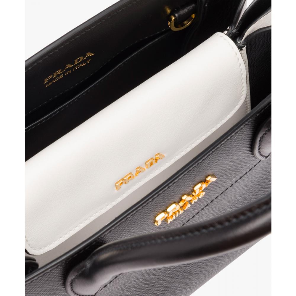 dcd4533d1c86 ... プラダ ビブリオテーク バッグ ハンド ショルダーバッグ PRADA Bibliothèque Bag Saffiano leather 4  ...