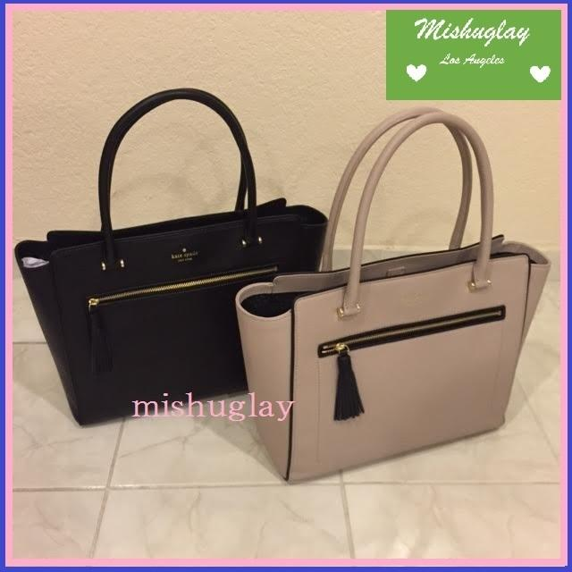 【kate spade】9月発表★可愛いタッセル付♪A4収納トート'allyn' 1