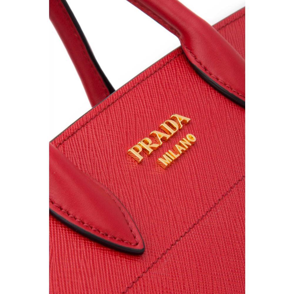26ec61b17f29 ... プラダ ビブリオテーク バッグ ハンド ショルダーバッグ PRADA Bibliothèque Bag Saffiano leather 18  ...