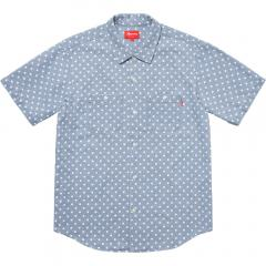 Supreme SS18 Week5 Supreme Polka Dot Denim Shirt シュプリーム 選べる4色
