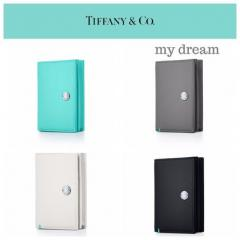 【Tiffany & Co】新作★Vertical Folded Card Case (全4色)
