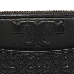 トリーバーチ TORY BURCH BRYANT ZIP CONTINENTAL 長財布 BLACK 黒  6