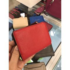 【Marc Jacobs】Leather wallet コンパクト 折りたたみ財布 3