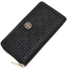 トリーバーチ TORY BURCH BRYANT ZIP CONTINENTAL WALLET 長財布 BLACK  4