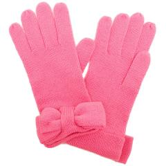 kate spade half bow glove ハーフボウグローブ リボン手袋 ピンク