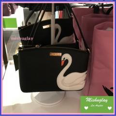 【kate spade】9月復刻★スワンアップリケ♪ポシェットmillie★