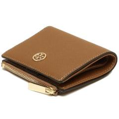 トリーバーチ TORY BURCH ROBINSON MINI WALLET 二つ折りTIGERS EYE 茶色 7