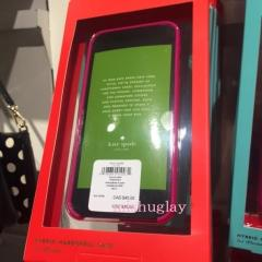 【kate spade】1月新作★ミニリボン柄♪ iPhone6/6s case★ 6