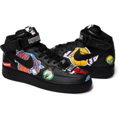 新作☆ Supreme SS18 Nike NBA Air Force 1 Mid Black シュプリーム ナイキ