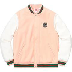 Supreme SS18 Week9 Supreme X  LACOSTE Wool Varsity Jacket シュプリーム ラコステ ウール ジャケット