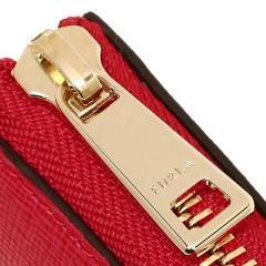 フルラ FURLA バビロン BABYLON XL ZIP AROUND L 長財布 RUBY 赤  8