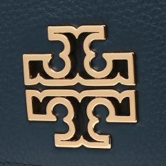 トリーバーチ TORY BURCH BRITTEN DUO ENVELOPE CONTINENTAL WALLET 長財布 HUDSON BAY 紺 6