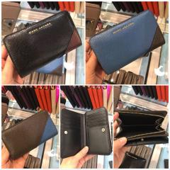 【Marc Jacobs】M0013335 Leather Compact Wallet 二つ折り 1