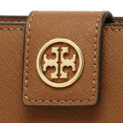 トリーバーチ TORY BURCH ROBINSON FRENCH FOLD WALLET 二つ折りTIGERS EYE 茶色  6