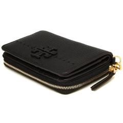 トリーバーチ TORY BURCH MCGRAW BI-FOLD WALLET 二つ折りBLACK 黒  7
