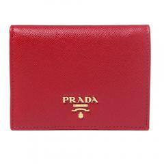 プラダ 折りたたみ財布 6色 PRADA Small Saffiano Leather Wallet 1MV204 QWA 4
