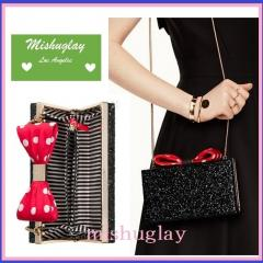 【kate spade×Minnie】限定コラボ★minnie mouse bow clasp★