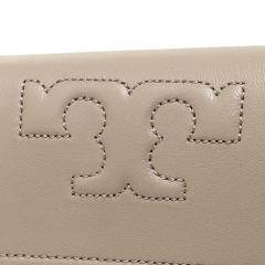 トリーバーチ TORY BURCH BRYANT FOLDABLE MINI WALLET 三つ折りグレー  6