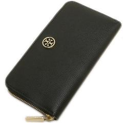 トリーバーチ TORY BURCH ROBINSON ZIP CONTINENTAL WALLET 長財布 BLACK  4