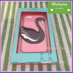 【kate spade】9月発表★3D swan iphone 6 case★シリコン 1