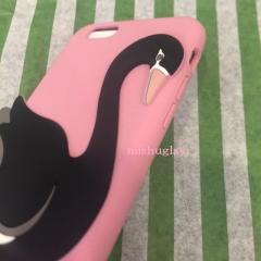 【kate spade】9月発表★3D swan iphone 6 case★シリコン 4